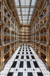 Peabody Library, Baltimore Md.